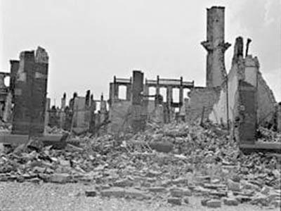 2 films bombardement Bezuidenhout